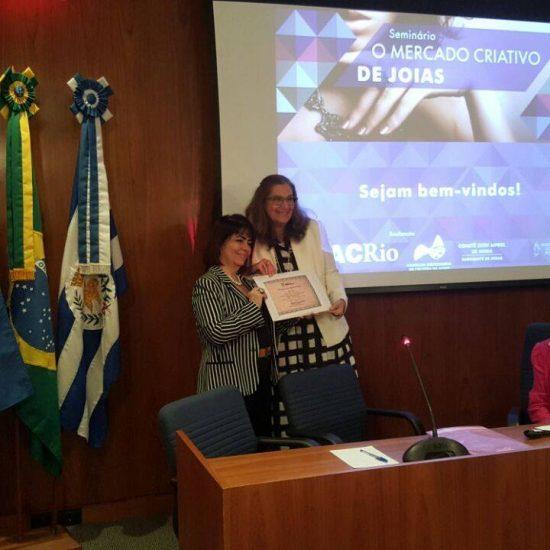 Palestra na Associação Comercial do Rio de Janeiro