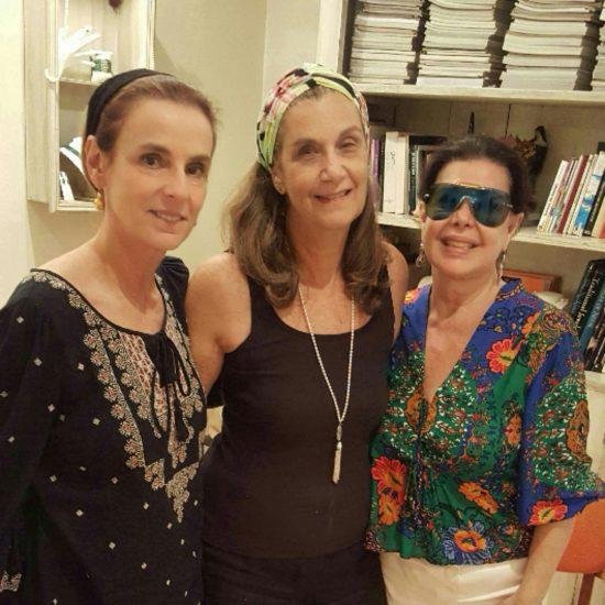 Patricia Veiga e Ana Lúcia Quintaes. Surpresa  boa!!