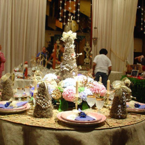 Mesas de Natal 2004