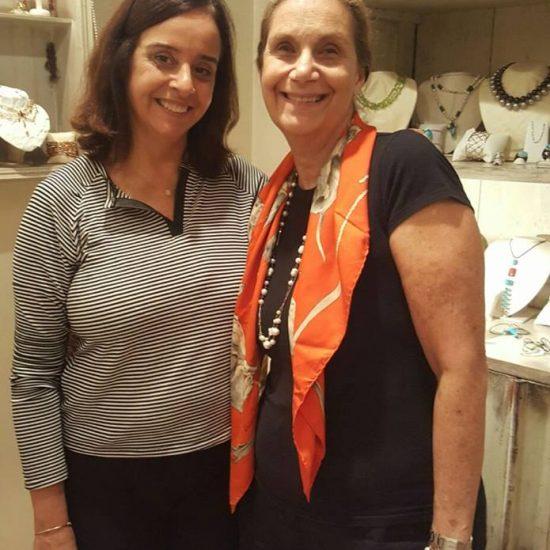 Luciana Guadalupe no Lançamento da Coleção Esperança