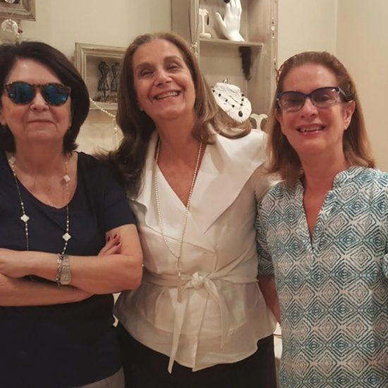 Suzete Aché e Marina Lessa Bastos na Expo Nov 2016